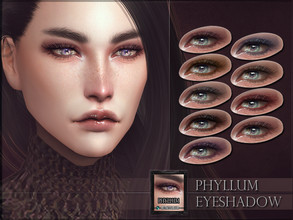 Sims 4 — Phyllum Eyeshadow by RemusSirion — Phyllum Eyeshadow HQ mod compatible: preview pictures were taken with HQ mod