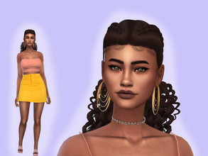 Sims 4 — Shannon Strickland by YNRTG-S — Shannon is a young and passionate person. She loves fun, parties, dances and...