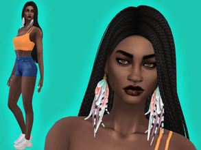 Sims 4 — Naomi Miller by YNRTG-S — Naomi is a true treasure hunter who loves exploring, and she is very confident about