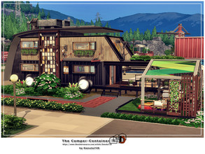 Sims 4 — The Camper - Container by Danuta720 — You don't like traditional houses? I have something special for you - it's