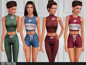 Sims 3 — ShakeProductions 90 SET by ShakeProductions — This set contains 4 items