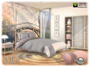 Sims 4 — Nae bedroom by jomsims — Nae bedroom Nae bedroom Sims 4 for your Sims campagne spirit for this new bedroom.