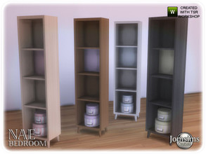 Sims 4 — Nae bedroom dresser furniture deco by jomsims — Nae bedroom dresser furniture deco