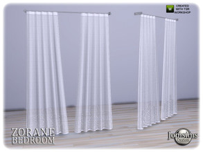 Sims 4 — Zorane bedroom curtains by jomsims — Zorane bedroom curtains