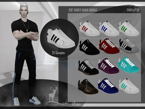 Sims 4 — DSF SHOES RADIX ADIDAS by DanSimsFantasy — sports shoes for those moments of comfort. You have 25 variants. It