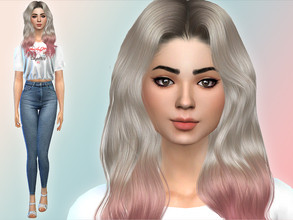 Sims 4 — Candy Behr by Mini_Simmer — Name: Candy Behr Age: Young Adult Traits: Cheerful, Geek and Outgoing Aspiration: