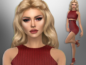 Sims 4 — Lidia Larson by divaka45 — Click on the Creator Notes tab (next to description) to see the full list of CC!!!