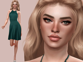 Sims 4 — Christina Scott by MSQSIMS — Name : Christina Scott Age : Young Adult Aspiration: Lady Of The Knits Traits: