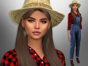 Sims 4 — Tiffany Barns by divaka45 — Click on the Creator Notes tab (next to description) to see the full list of CC!!!