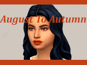Sims 4 — August To Autumn warm tone lipstick collection by The_Mind_Of_JC — August To Autumn lipstick collection is a set