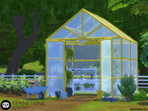 Sims 4 — Tennessine Garden - Gardening Tools by wondymoon — Tennessine gardening tools decorations! Decorate the