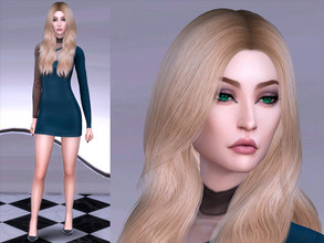 Sims 4 — Crystal Price by YNRTG-S — Crystal loves luxury and fame and those are the things she will achieve in her life,