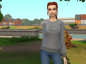 Sims 4 — Heart on Heart Sweater by Ashuria — Basegame Sweater Recolored! Do Not Reupload.