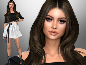 Sims 4 — Magdalena Avalos by divaka45 — Click on the Creator Notes tab (next to description) to see the full list of
