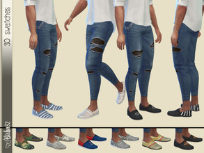 Sims 4 — Man Summer Shoes by Birba32 — Men's shoes perfect for summer time. I wanted to do many more but for now I think