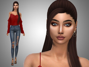 Sims 4 — Aliyah Case by Mini_Simmer — Name: Aliyah Case Age: Young Adult Traits: Self Assured, Romantic, Foodie.