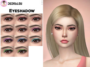 "Sims 4 — Makeup Set  by Anonimux_Simmer — Hi! I am very happy to share with you my new makeup set ""Free"