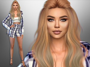 Sims 4 — Violeta Azul by divaka45 — Click on the Creator Notes tab (next to description) to see the full list of CC!!!