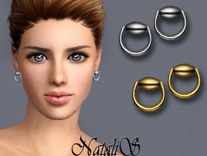 Sims 3 — NataliS TS3 Horse bit stud earrings by Natalis — Horse bit stud earrings. FT-FA-FE