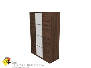 Sims 4 — Luxora Wardrobe by Onyxium — Onyxium@TSR Design Workshop Bedroom Collection | Belong To The 2020 Year