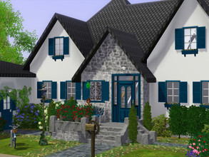 Sims 3 — Empty House and gazebo o no CC  by sgK452 — holiday home or family home, in all cases this house will make