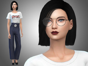 Sims 4 — Yesenia Yuen by Mini_Simmer — Name: Yesenia Yuen Age: Young Adult Traits: Perfectionist, Art Lover and Neat