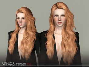 Sims 3 — WINGS-TZ0820 by wingssims — S4 conversion All LODs Smooth bone assignment hope you like it