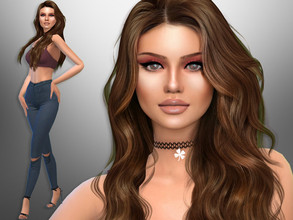 Sims 4 — Shea Pulido by divaka45 — Click on the Creator Notes tab (next to description) to see the full list of CC!!!