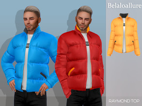 Sims 4 — Belaloallure_Raymond top by belal19972 — Simple puffer jacket for your sims ,enjoy :)
