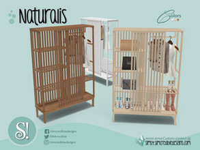 Sims 4 — Naturalis Wardrobe by SIMcredible! — by SIMcredibledesigns.com available at TSR 3 colors variations