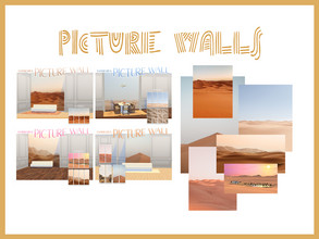 Sims 4 — picture wallpaper - desert by xxmercury — picture wallpaper + base game compatible + more than 4 different