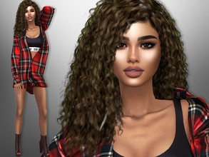 Sims 4 — Lesley Tipton by divaka45 — Click on the Creator Notes tab (next to description) to see the full list of CC!!!