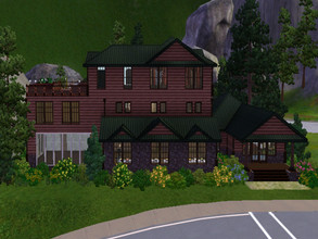 Sims 3 — Forest Mountain Resort by Some_Good_Username — Have a rest from the busyness od the city in this peaceful resort