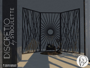 Sims 4 — Discretio Divider Room (part 2) by Syboubou — This a collection of divider room with simple lines and creative