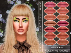 Sims 4 — JUL_HAOS [COSMETICS] LIPSTICK #50 by Jul_Haos — - CATEGORY: LIPSTICK - SAMPLE: 14 - GENDER - FEMALE - HQ