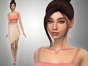 Sims 4 — Dahlia Conway by Mini_Simmer — Download the CC from the Creator notes (by clicking on the text) Don't reclaim or