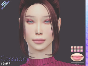 Sims 4 — [KCHU] af Lipstick Cassadey HQ by Kiminachu — - Available in 8 different colors - HQ compatible - Custom