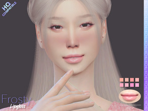 Sims 4 — [KCHU] af Lipgloss Frosty HQ by Kiminachu — - Available in 8 different colors - HQ compatible - Custom thumbnail