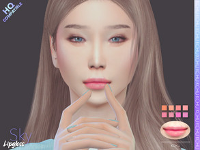 Sims 4 — [KCHU] af Lipgloss Sky HQ by Kiminachu — - Available in 8 different colors - HQ compatible - Custom thumbnail