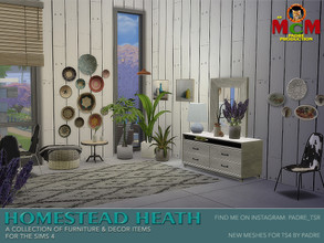 Sims 4 — Homestead Heath pt 2 by Padre — A bit of a departure from my normal uploads, this is a set full of country-manor
