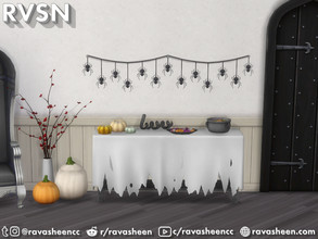 Sims 4 — Creep It Real Halloween Decor by RAVASHEEN —  Add scary festive flair to your party with the Creep It Real