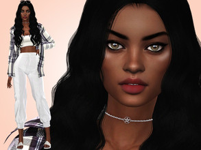 Sims 4 — Aria Campbell by MSQSIMS — Name : Aria Campbell Age : Young Adult Aspiration: Friend Of The World Traits: