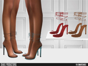 Sims 4 — ShakeProductions 518 - High Heels by ShakeProductions — Shoes/ Boots-Heels New Mesh All LODs Handpainted 13
