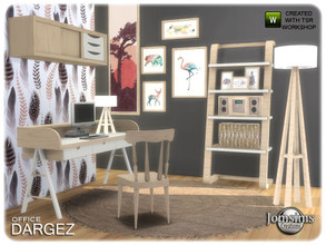 Sims 4 — Dargez Office by jomsims — Dargez Office a new office for your Sims nordic inspiration desk. chair desk. table