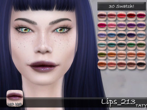 Sims 4 — [Ts4]Taty_Lips_213 by tatygagg — - Female, Male - Human, Alien - Teen to Elder - Hq Compatible