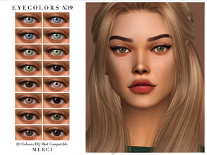 Sims 4 — Eyecolors N39 by -Merci- — New Eyecolors for Sims4 -Eyecolors for both genders and all ages. -No allow for