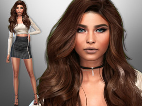Sims 4 — Thalia Busca by divaka45 — Click on the Creator Notes tab (next to description) to see the full list of CC!!!