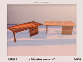 Sims 4 — Ombre Table by Winner9 — Table from my kitchen Ombre, you can find it easy in your game by typing Winner9 or