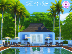 Sims 4 — Bali's Villa by meduseyt — This is inspired by Villa Lullito in Bali! If your sims want to get away for a little