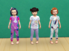 Sims 4 — Frozen pyjama for toddlers by Arisha_214 — Pyjama for little Frozen fans :)